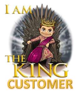 Customers are always like Joffery